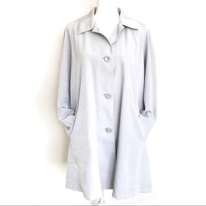 Mulberry Street Trench Coat Grey